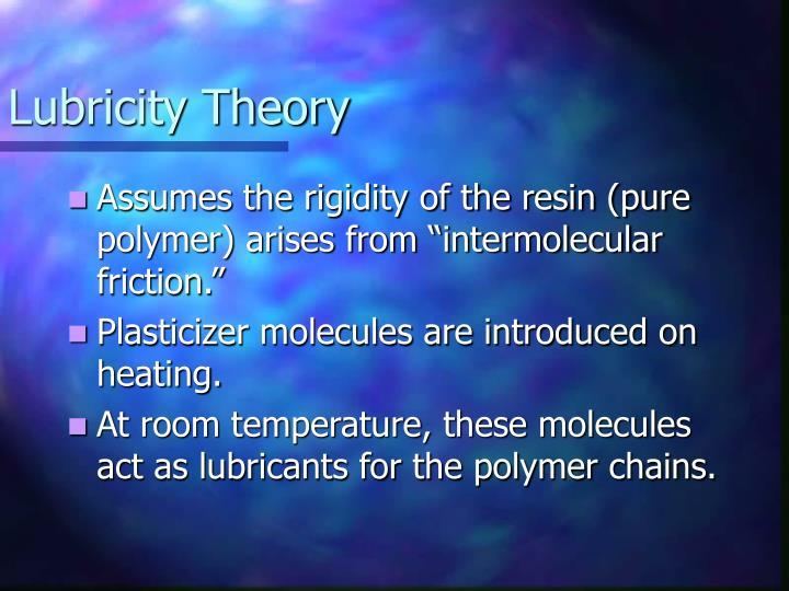 Lubricity Theory