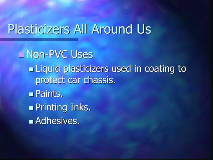 Plasticizers All Around Us