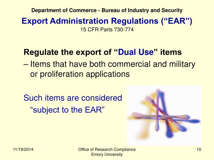 Department of Commerce - Bureau of Industry and Security
