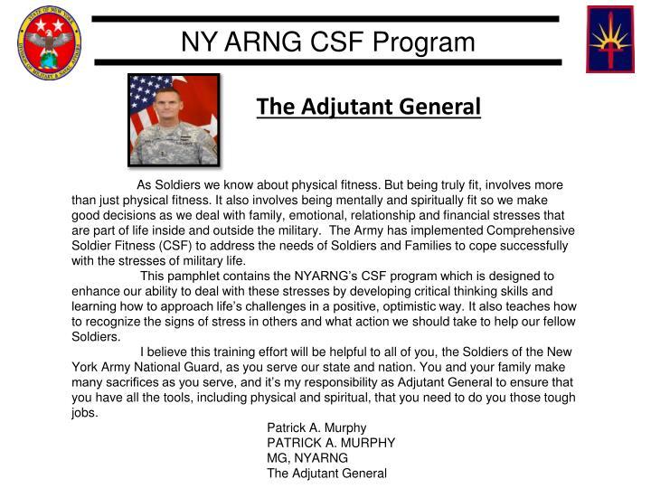 The Adjutant General