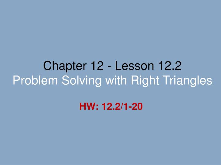 lesson 12.2 problem solving arcs and chords