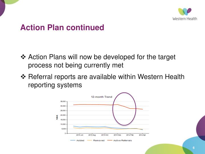 Action Plan continued