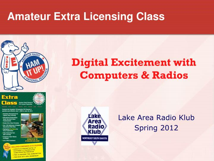 amateur extra licensing class n.
