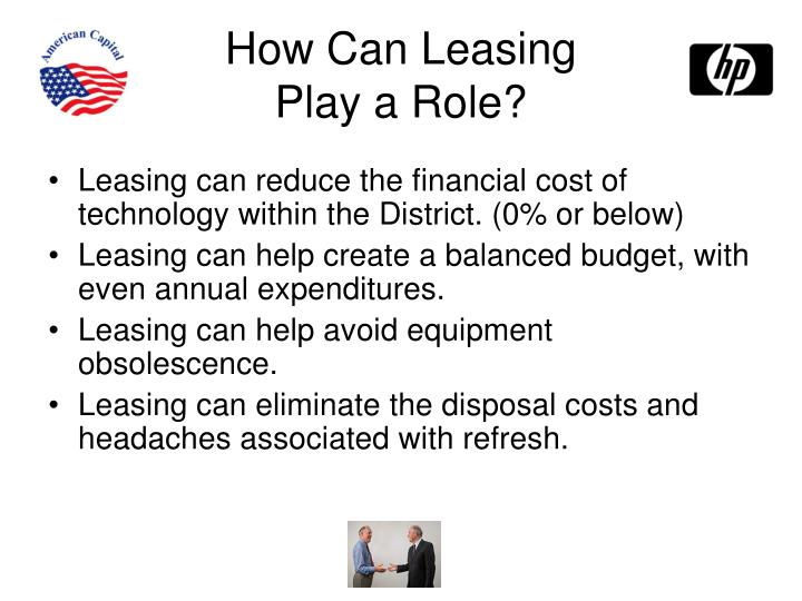 How Can Leasing