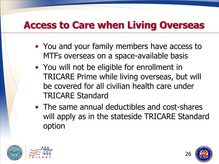 Access to Care when Living Overseas