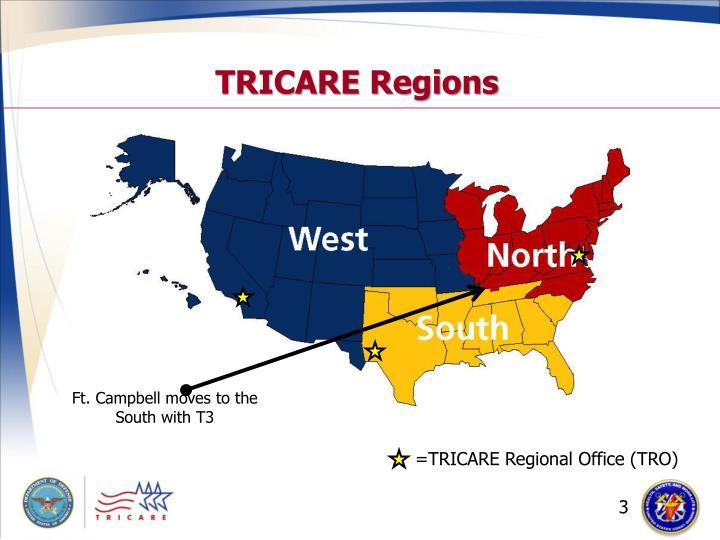 Tricare regions