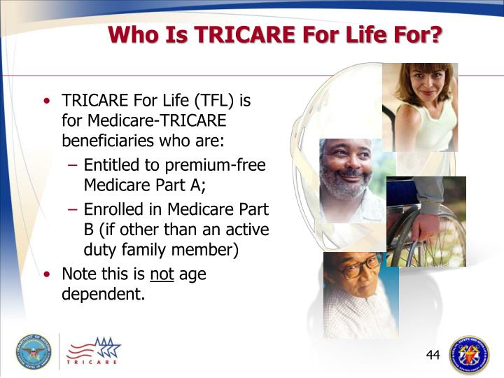 Who Is TRICARE For Life For?