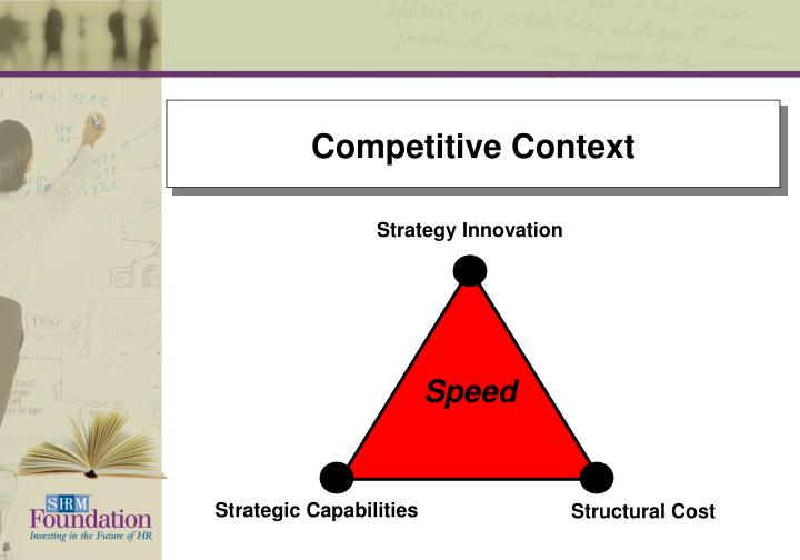 Competitive Context