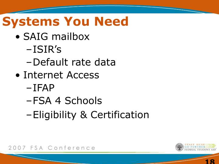 Systems You Need