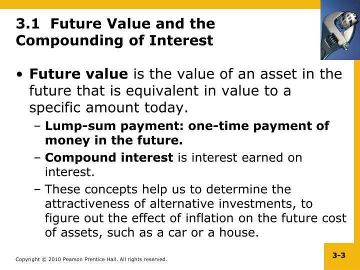 3 1 future value and the compounding of interest