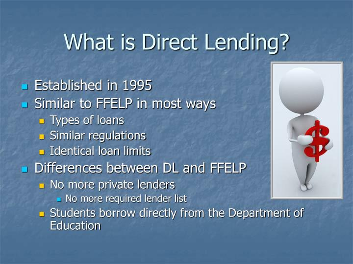 What is Direct Lending?