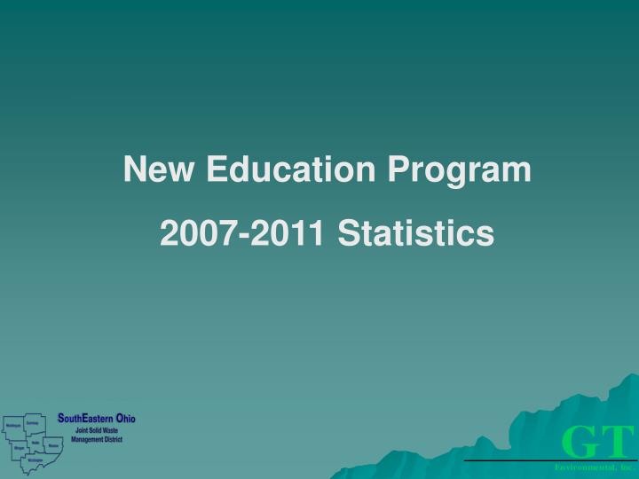 New Education Program