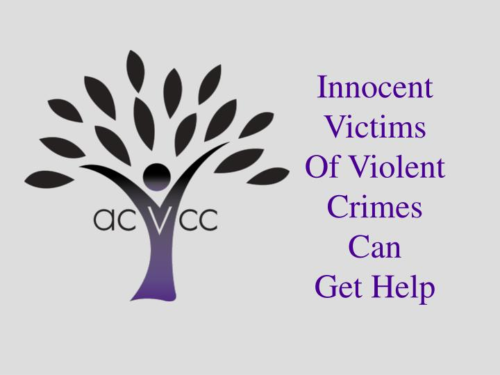 a paper on innocent victims of violence