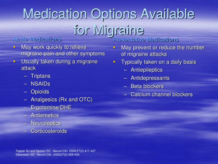 Preventative Medications