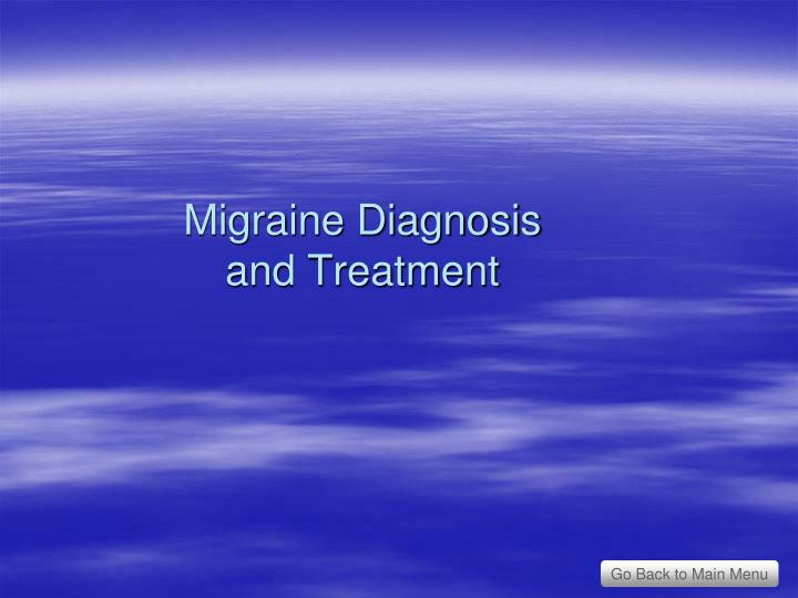 Migraine Diagnosis