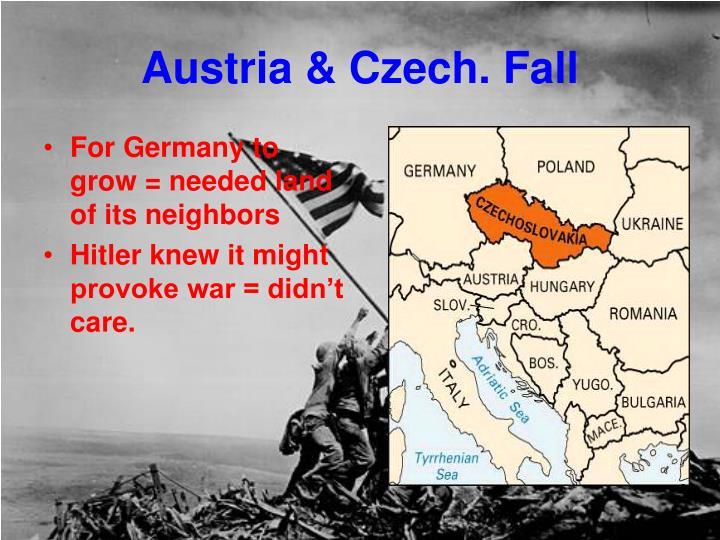 Austria & Czech. Fall