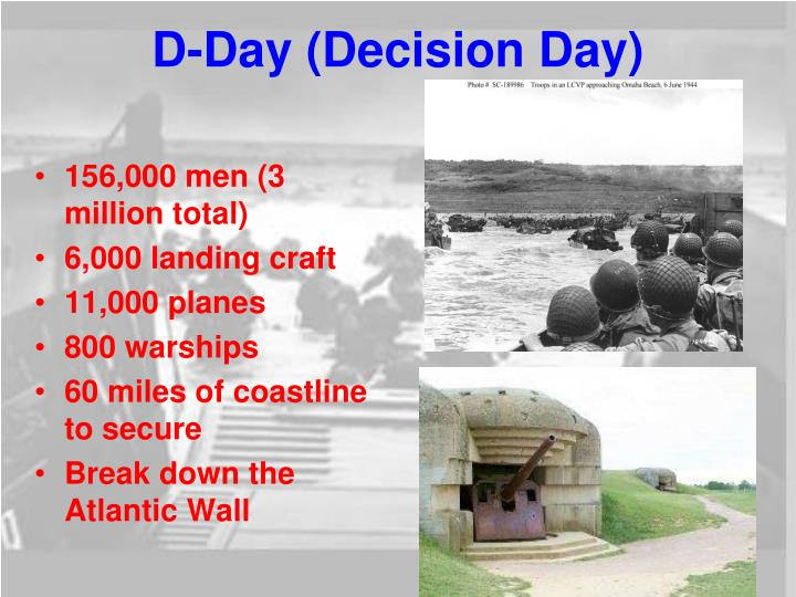 D-Day (Decision Day)