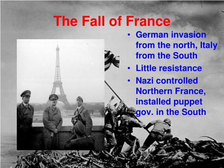 The Fall of France