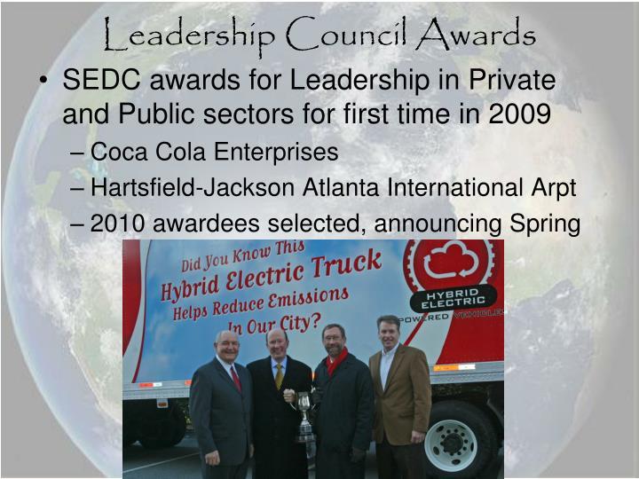 Leadership Council Awards