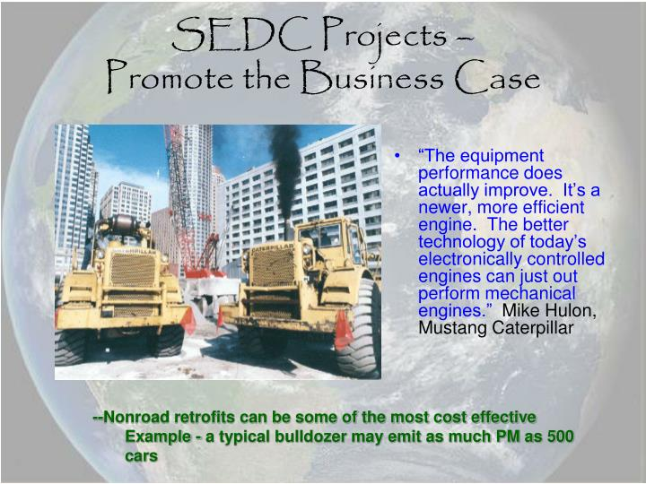 SEDC Projects –