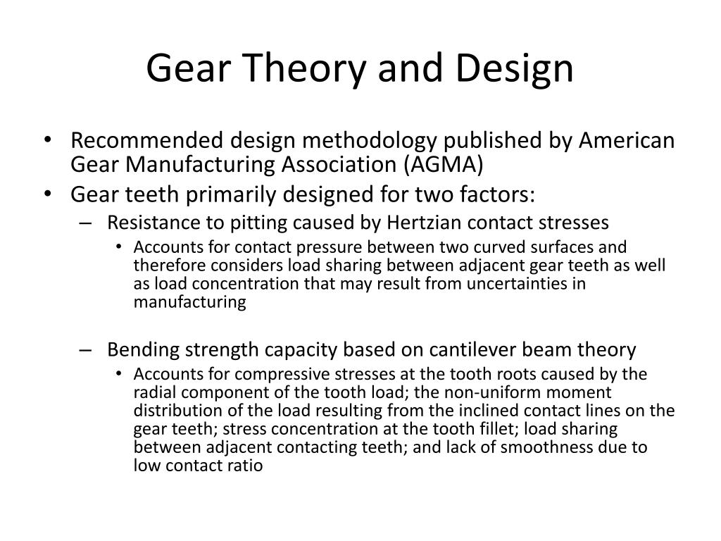 PPT - Design and Analysis of a Spiral Bevel Gear PowerPoint
