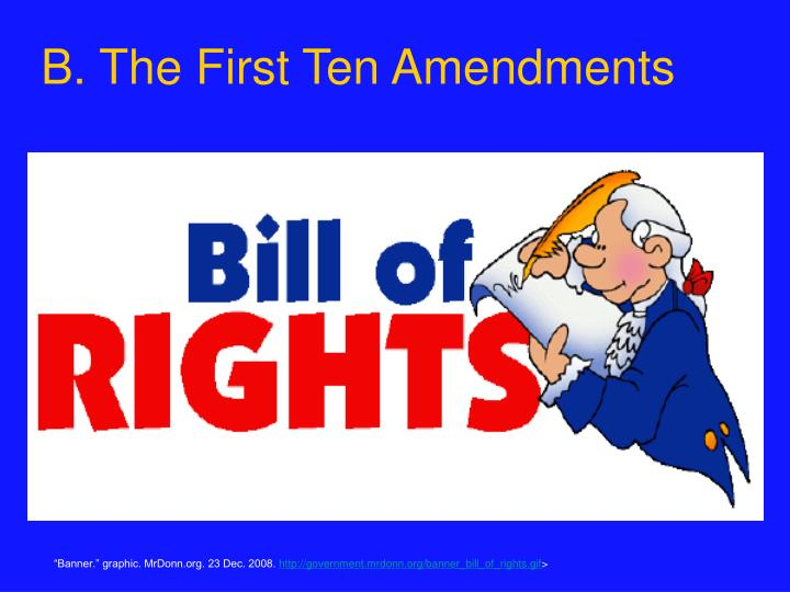 an analysis of the implications of the first amendment to the bill of rights