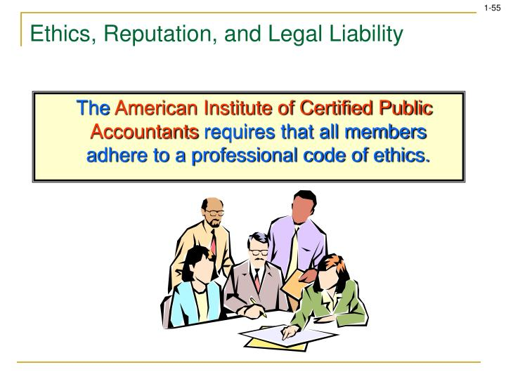 the code of professional ethics by american institute of certified public accountants Start studying mgt ch 5 the american institute of certified public accountants code of the code of professional conduct of the american institute.