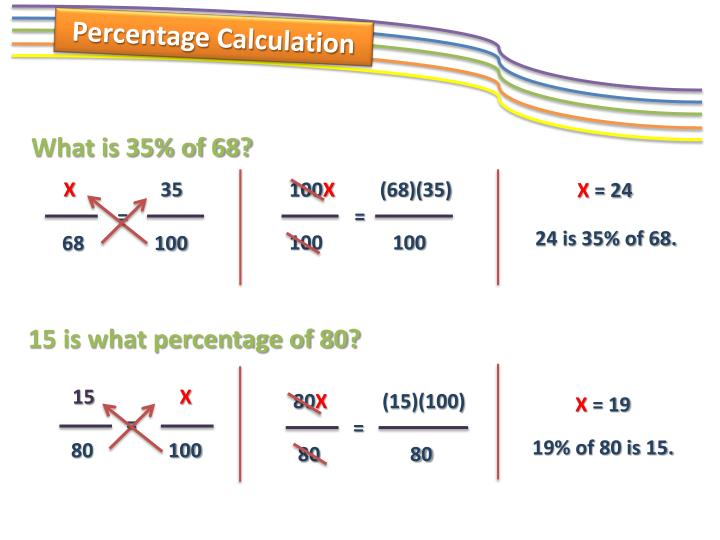 Percentage Calculation