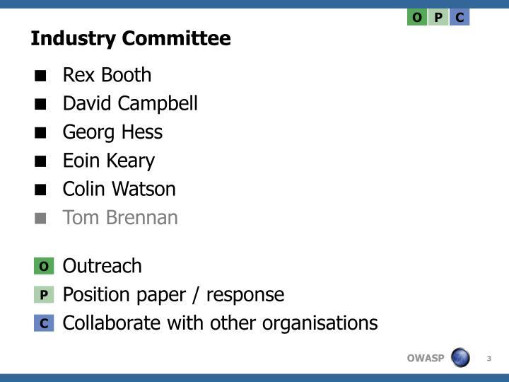 Industry committee