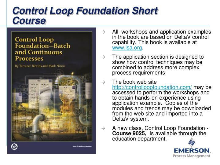 Control loop foundation short course1