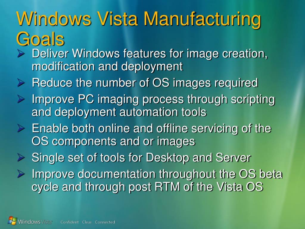 PPT - Windows Vista Deployment & Servicing Overview