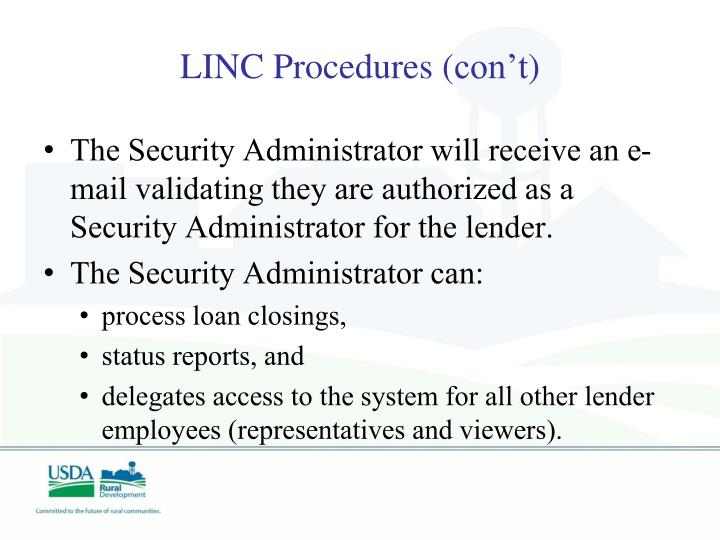 LINC Procedures (