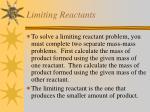 limiting reactants2