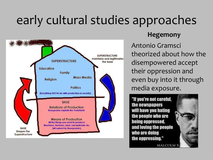early cultural studies approaches
