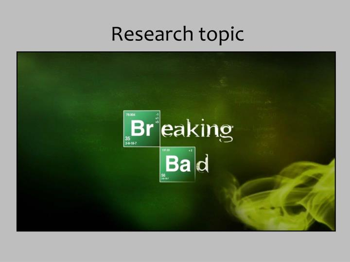 Research topic