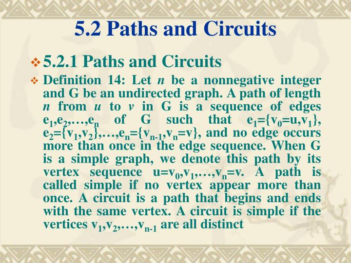 5 2 paths and circuits