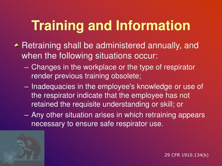 Training and Information