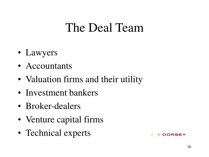 The Deal Team