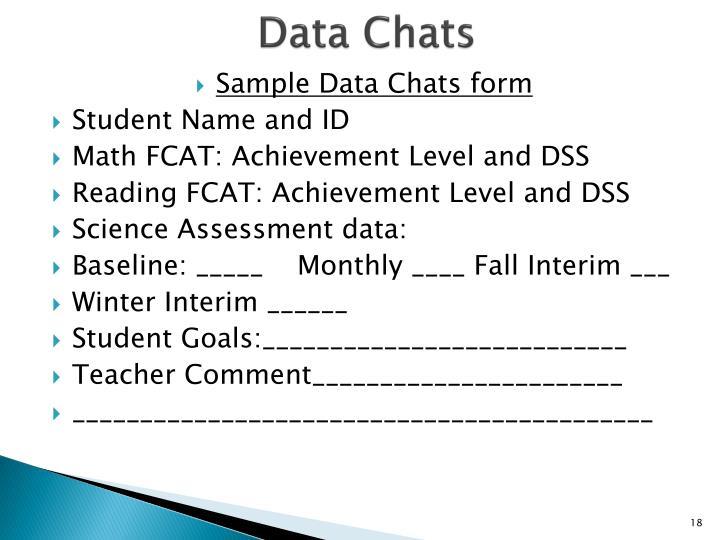 Data Chats