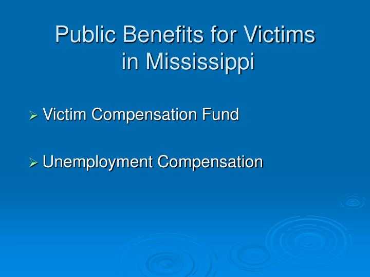 victim compensation essay Information on victims' rights and pro bono services offered by the project, including representation at court hearings, assistance with victim impact statements, and filing for restitution and compensation.