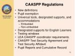 caaspp regulations