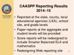 caaspp reporting results 2014 15