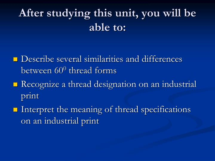 Ppt brx210 mechanical blueprint reading powerpoint presentation after studying this unit you will be able to malvernweather Gallery