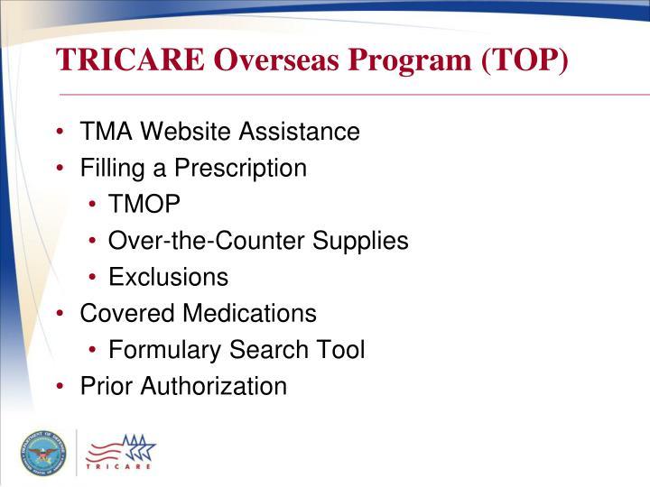 Tricare overseas program top