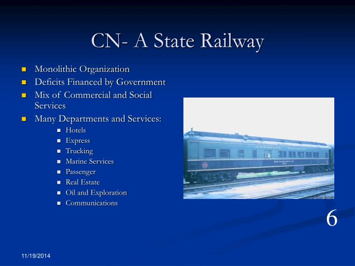 CN- A State Railway