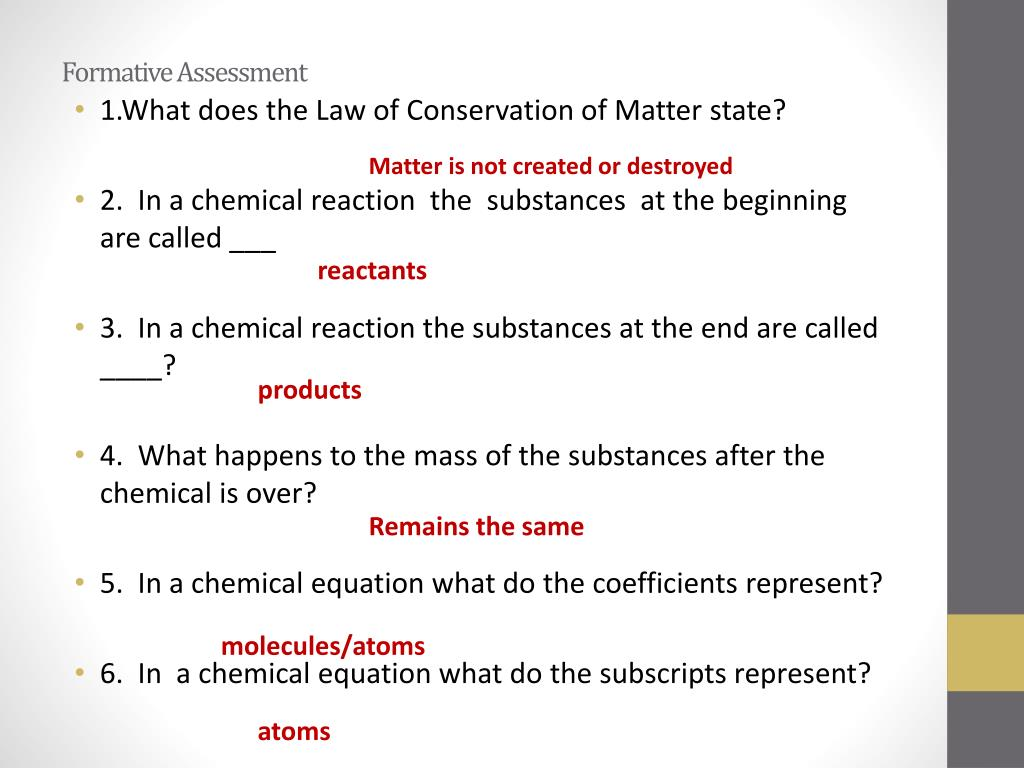 what does law of conservation of mass