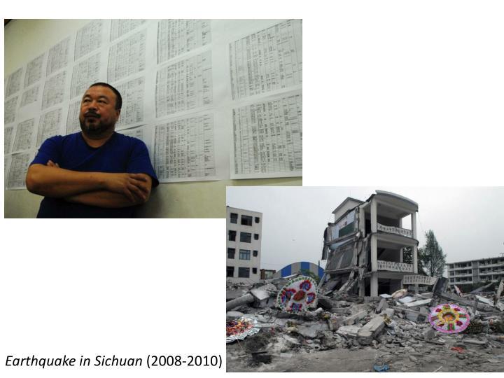 Earthquake in Sichuan