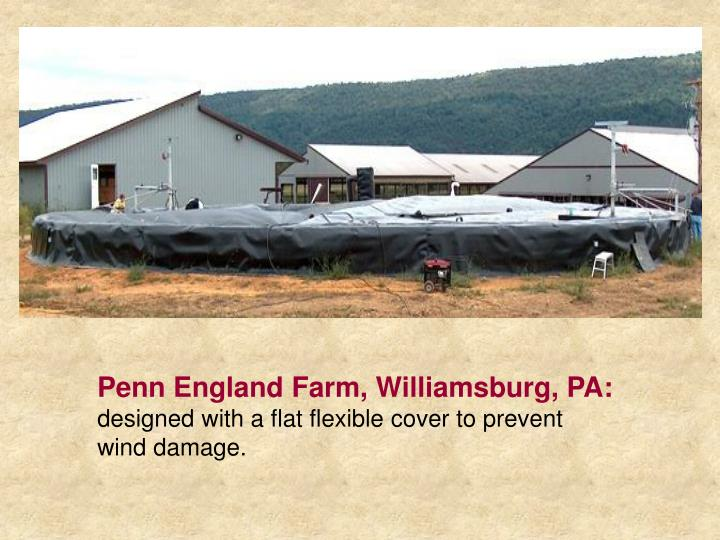 Penn England Farm, Williamsburg, PA:
