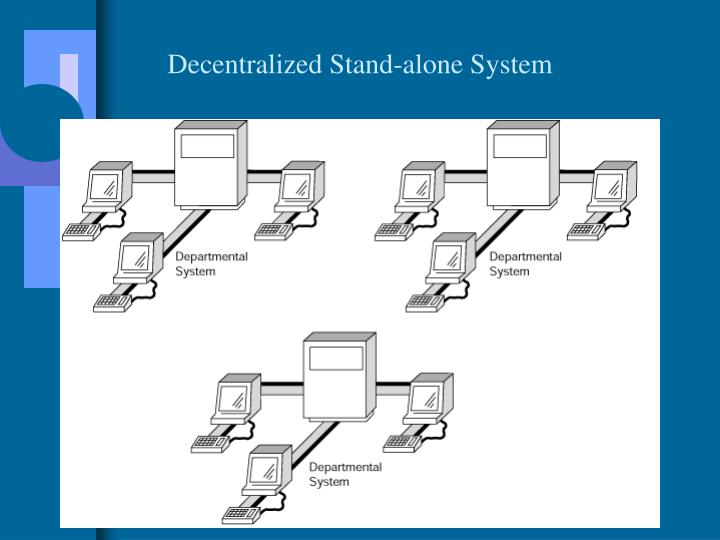 Decentralized Stand-alone System