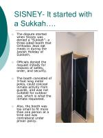 sisney it started with a sukkah